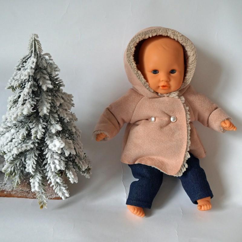 manteau pour poupée